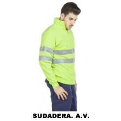 SUDADERA ALTA VISIBILIDAD -ROAD