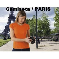 CAMISETA MUJER / PARIS