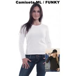 CAMISETA MUJER BASICA / FUNKY
