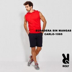 SUDADERA SIN MANGAS / CARLO - 1065