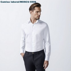 CAMISA LABORAL HOMBRE -MOSCU 5506