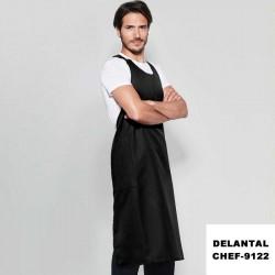 DELANTAL TIRANTE BOTONES-CHEF-9122