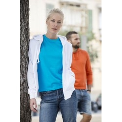 SUDADERA CREMALLERA-BASIC HOODY FULL ZIP LADIES-021035