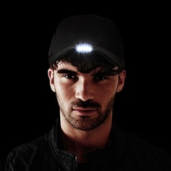 GORRA CON LUZ LED INTEGRADA / B515