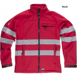 CHAQUETA WORKSHELL REFLECTANTE / S9035