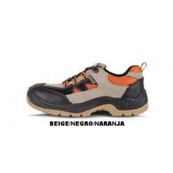 Zapato proteccion serraje tipo treking,