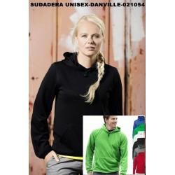 SUDADERA UNISEX SIN CAPUCHA-DANVILLE-021054