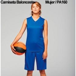 CAMISETA BALONCESTO MUJER / PA460