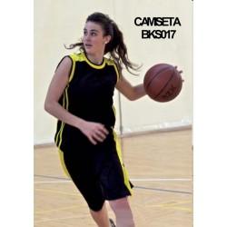 CAMISETA BALONCESTO UNISEX / BKS017