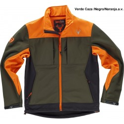 CHAQUETA WORKSHELL TRICOLOR / S8625