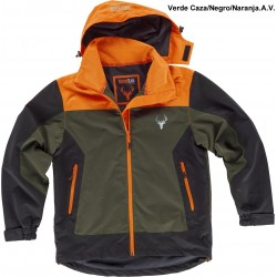CHAQUETA WORKSHELL TRICOLOR / S8225